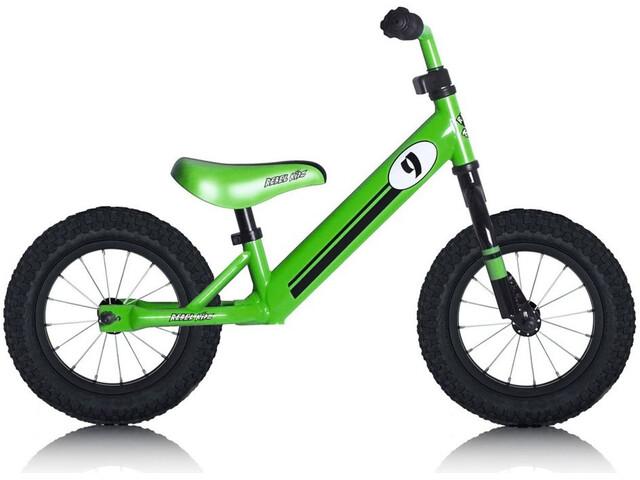 "Rebel Kidz Air Lernlaufrad 12,5"" Race Motiv/grün"